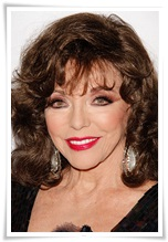picturelux celebrity stock photos Joan Collins tot