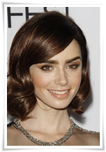 picturelux celebrity stock photos Lily Collins rd