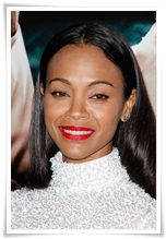 picturelux celebrity stock photos Zoe Saldana lbn